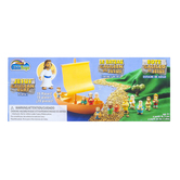Cactus Game Design Inc., Tales of Glory Jesus & The Galilee Boat Play Set, 15 Pieces, Ages 3 & Older