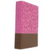 NIV Women's Devotional Bible, Larger Print, Imitation Leather, Chocolate and Berry