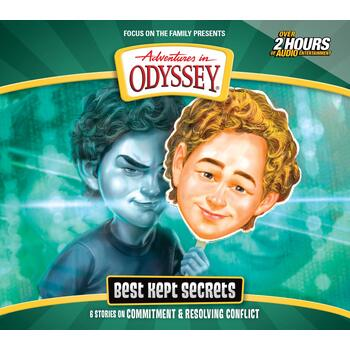 Adventures In Odyssey, Best Kept Secrets, Episode 69, by Focus On The Family, CD