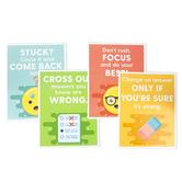 Carson-Dellosa, Test-Taking Strategies Mini Poster Set, 8 1/2 x 11 Inches, Pack of 12