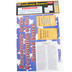 McDonald Publishing, Constitutional Amendments Colossal Poster, 22 x 68 Inches, Grades 4-12