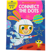 Scholastic, Little Skill Seekers: Connect the Dots Activity Book, 48 Pages, Grades PreK-1