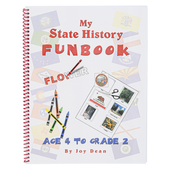 A Helping Hand, My State History Funbook West Virginia Set, Grades PreK-2