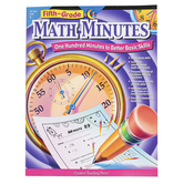Creative Teaching Press, Math Minutes Workbook, Reproducible Paperback, 112 Pages, Grade 5