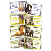 North Star Teacher Resources, God Cares for His Children Bulletin Board Set, 8 Pieces