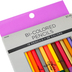 The Fine Touch, Bi-Colored Pencils, Assorted 36 Colors, 18 Count