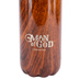 Christian Art Gifts, 1 Timothy 6:11, Man of God Water Bottle, Stainless Steel, Brown, 17 ounces