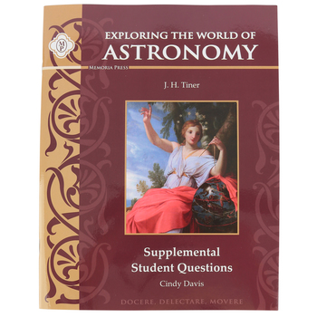 Memoria Press, Exploring the World of Astronomy Teacher Key and Tests, Paperback, Grades 6-8