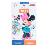 Carson Dellosa, My Take-Along Tablet Mickey and Friends 123s Activity Pad, Grade PreK-1, 64 Pages, Ages 3-7