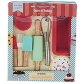 Handstand Kitchen, Intro to Baking Kitchen Set, 17 Pieces, Ages 6 & Older