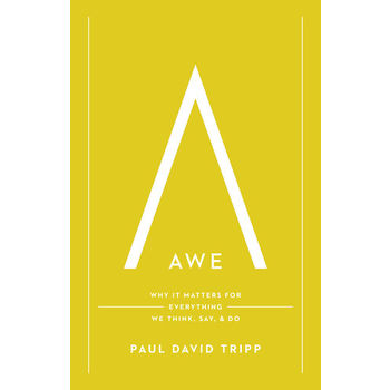 Awe: Why It Matters for Everything We Think, Say, and Do, by Paul David Tripp