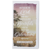 Renewing Faith, Blessed Be The Lord 2021-2023 Pocket Planner, 3 1/2 x 6 1/2 inches