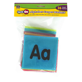 Teacher Created Resources, Spot On Alphabet Carpet Markers, Assorted Colors, 26 Pieces, 4 Inches
