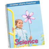 Christian Liberty Press, Preschool Science Book, Spiral, 130 Pages, Grade Pre-K