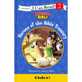 I Can Read! Level 2, Adveture Bible, Heroes Of The Bible Treasury, by David Miles, Hardcover