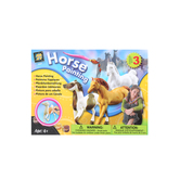 Amav Enterprises, Horse Painting Kit, 3 Horses, 6 Pieces, Ages 4 and up
