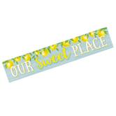 Teacher Created Resources, Lemon Zest Our Sweet Place Banner, Horizontal, 8 x 39 Inches