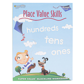 Bryan House Publishers, Place Value Skills Workbook, Reproducible Paperback, 64 Pages, Grades 1-2