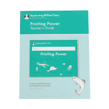 Handwriting Without Tears, Printing Power Teacher's Guide, Paperback, Grade 2