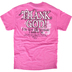 Red Letter 9, Philippians 1:6 I'm Not the Woman, Short Sleeve T-Shirt, Azalea Pink, 2X-Large