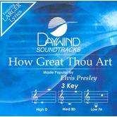 How Great Thou Art, Accompaniment Track, As Made Popular by Elvis Presley, CD