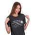 NOTW, Spirit Lead Me, Women's Short Sleeve T-Shirt, Dark Grey Heather, Small