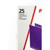 Pendaflex, Letter Size Hanging File Folders, Purple, 25 Box