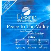 Peace In The Valley, Accompaniment Track, As Made Popular by Elvis Presley, CD