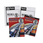 BJU Press, Writing and Grammar 10 Complete Subject Kit, 4th Edition, Grade 10