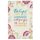 Salt & Light, Delight Yourself In The Lord Church Bulletins, 8 1/2 x 11 inches Flat, 100 Count