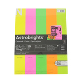 Neenah, Astrobright, Neon Cardstock, 50 pack