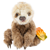 Folkmanis, Baby Sloth Hand Puppet, 11 x 9 x 15 inches