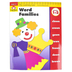 Evan-Moor, Learning Line Activity Book: Word Families, 32 Pages, Grades K-1