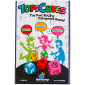 Blue Orange Games, TopiCubes: Category Dice Game, Ages 8 and Older, 2 to 6 Players