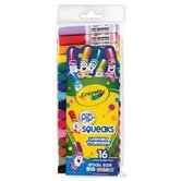 Crayola, Pip-Squeaks Washable Markers, Assorted Colors, 16 Count