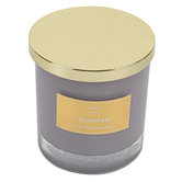 Winfield Home Decor, Whisper Jar Candle, Lavender, 9 ounces, 3 3/4 x 3 3/4 x 4 inches