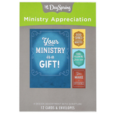 DaySpring, Ministry Appreciation Boxed Cards, 12 Cards with Envelopes
