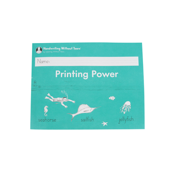Handwriting Without Tears, Printing Power Student Lesson Book, Paperback, Grade 2