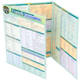 BarCharts Inc, French Conversation, Quick Study Academic Guide, Laminated, Grades 6-Adult