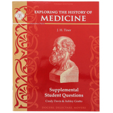 Memoria Press, Exploring the History of Medicine Supplemental Student Book, Paperback, Grades 5-8