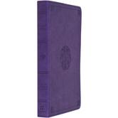 ESV Premium Gift Bible, TruTone, Lavender, Emblem Design