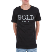 NOTW, Bold Faith, Men's Short Sleeve T-shirt, Black, S-2XL