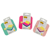 3M, Post-It Pop Up Note Dispenser, Plastic, Assorted Colors, 3 1/2 x 5 1/2 inches