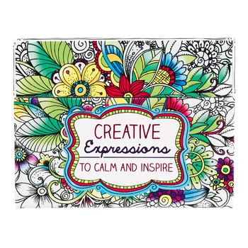 Christian Art Gifts, Creative Expressions Cards To Color and Share, 44 Cards