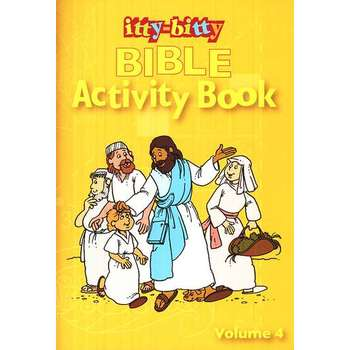 itty-bitty, Bible Activity Book, Volume 4, by Warner Press, Paperback