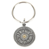 H.J. Sherman, With Faith All Things Are Possible Mustard Seed Key Chain, Pewter, 1 inch