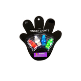 Toysmith, LED Finger Lights, Ages 6 Years and Older, 4 Pieces