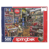 Springbok, Good Nabor Store Puzzle, 500 Pieces, 18 x 23 1/2 Inches