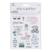the Paper Studio, Stickabilities, Faith Fashion Stickers, 2 Each of 13 Designs
