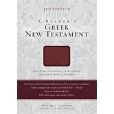 A Reader's Greek New Testament: Third Edition, by Richard J. Goodrich and Albert L. Lukaszewski